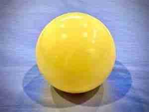Yellow Self Treatment Ball